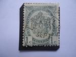 Stamps : Europe : Belgium :  Escudo de Armas- Tipo II