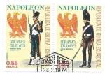 Sellos del Mundo : Africa : Guinea_Ecuatorial : uniformes napoleonicos