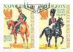 Sellos de Africa - Guinea Ecuatorial -  uniformes napoleonicos