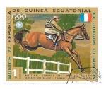 Sellos de Africa - Guinea Ecuatorial -  hípica