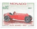 Sellos de Europa - Mónaco -  coches de carreras