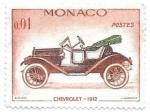 Sellos de Europa - Mónaco -  coches antiguos