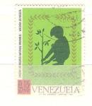 Sellos de America - Venezuela -  conservación RESERVADO