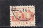 Stamps Poland -  Barbican, castillo de Githic-Renacimiento