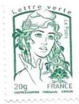 sello : Europa : Francia : Básica