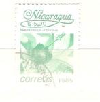 Sellos del Mundo : America : Nicaragua : malvaviscus