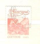 Sellos del Mundo : America : Nicaragua : hibiscus rosa