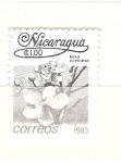 Sellos de America - Nicaragua -  bixa orellana RESERVADO