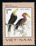 Stamps Asia - Vietnam -  aceros nipalensis