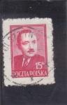 Stamps Poland -  Roman Odzierzynski primer ministro