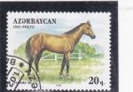 Sellos del Mundo : Asia : Azerbaiyán : caballo de raza
