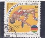 Stamps of the world : Madagascar :  Juegos Olímpicos de Barcelona´92