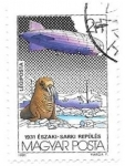 Stamps of the world : Hungary :  dirigible