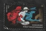 Sellos del Mundo : America : Estados_Unidos : Honrar a los primeros socorristas