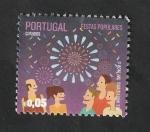 Sellos del Mundo : Europa : Portugal : 3722 - Fiestas tradicionales, fuegos artificiales