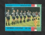 Sellos del Mundo : Africa : Sierra_Leona : 1162 - Mundial de fútbol Italia 90, Escocia