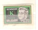 Sellos del Mundo : America : Uruguay : Kennedy