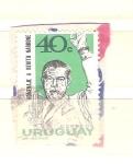 Sellos del Mundo : America : Uruguay : benito nardone