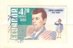 Sellos de America - Ecuador -  Kennedy RESERVADO