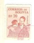 Sellos de America - Bolivia -  congreso indigena RESERVADO