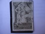 Stamps of the world : Argentina :  25 Aniversario de los Servicios Aerocomerciales