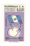 Stamps of the world : Guatemala :  Sesquincentenario de la independencia de Centroamérica