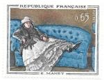 Sellos de Europa - Francia -  pintura