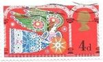 Stamps of the world : United Kingdom :  Navidad