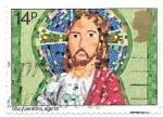 Stamps : Europe : United_Kingdom :  Cristo