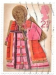Stamps : Europe : United_Kingdom :  angel