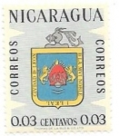 Stamps Nicaragua -  escudos municipales