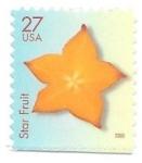 Sellos de America - Estados Unidos -  fruta estrella