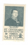 Sellos de America - México -  Primer centenario Chapultepec 1847-1947