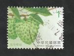 Sellos del Mundo : Asia : Taiwán : 3753 - Fruta atemoya