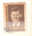 Stamps : America : Dominican_Republic :  Kennedy RESERVADO