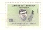 Sellos del Mundo : America : El_Salvador :  Kennedy RESERVADO