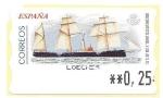 Sellos de Europa - España -  Crucero Infanta Isabel
