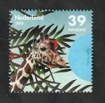 Sellos del Mundo : Europa : Holanda : 2345 - Cabeza de una jirafa