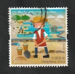 Sellos del Mundo : Asia : Hong_Kong : 1807 - Cuento para niños