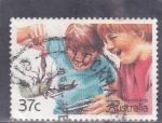 Sellos del Mundo : Oceania : Australia : niños australianos