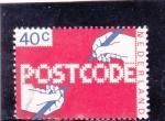 Sellos del Mundo : Europa : Holanda : código postal