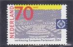 Sellos del Mundo : Europa : Holanda : parlamento europeo