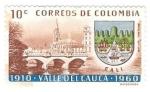 Sellos del Mundo : America : Colombia : Valle del Cauca