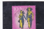 Stamps Europe - Germany -  Vietnam invencible