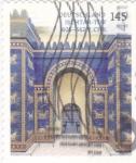 Sellos del Mundo : Europa : Alemania : Puerta de Ishtar