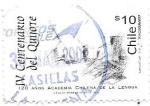 Sellos del Mundo : America : Chile : IV centenario del Quijote