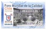 sello : America : Chile : Foro de la calidad