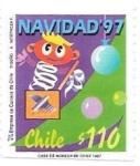 sello : America : Chile : Navidad