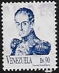 Sellos del Mundo : America : Venezuela : Simón Bolívar
