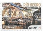 Sellos de America - Uruguay -  Rio Negro